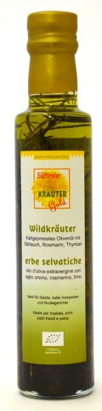 Wildkräuter Öl